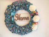 Home Rag Wreath