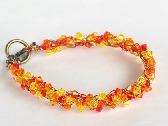 Sunny Wire Crochet Braidlet FREE USA SHIPPING