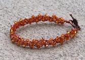 Topaz Swarovski Crystal Bracelet