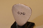 Guitar Pick for Dad or Fathers Day Handmade in Copper