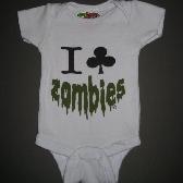 Zombie onesie 0 to 3 months
