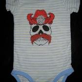 Cowboy Skull Onesie