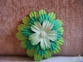 Spring Green Hair Barrette