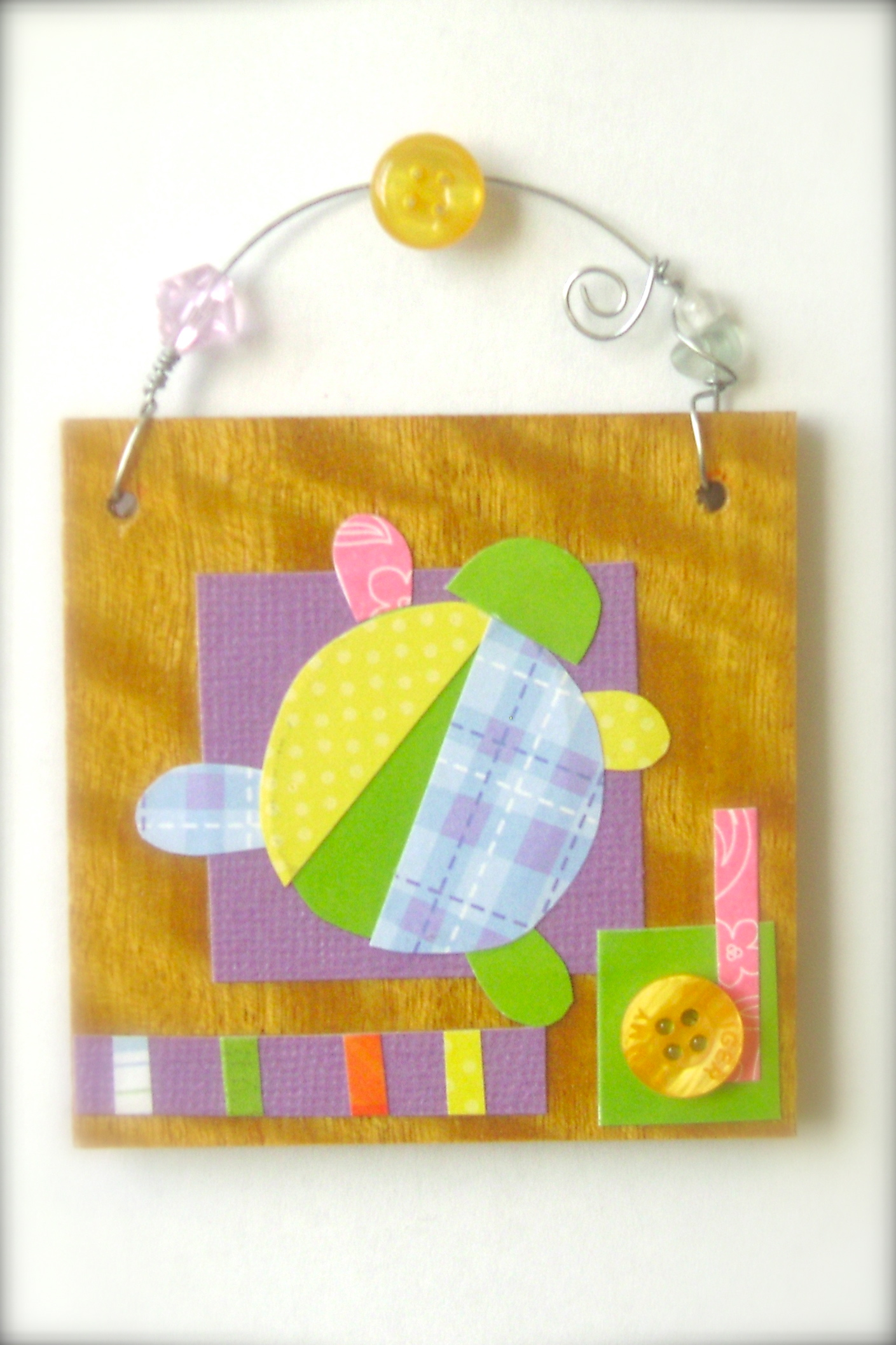Turtle Nursery Art by littlebigtop