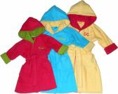 Toddlers Personalized terry cloth bath robe