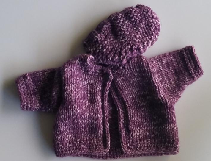 American Girl Sweater and Hat