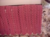 Crocheted Raspberry Afghan AF16336A